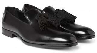 kiểu dáng giày lười nam lịch lãm