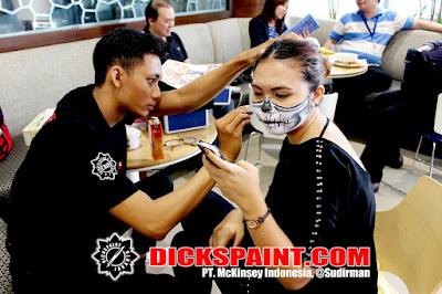 Make Up Horror Halloween Jakarta
