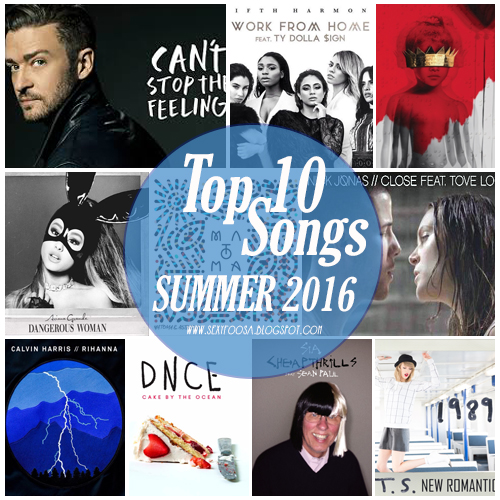 top 10 songs may 2016 summer top 10 pick billboard hot 100 spotify album cover