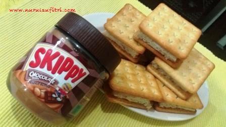 Resep Sandwich Biskuit Selai Kacang Skippy Selai Skippy