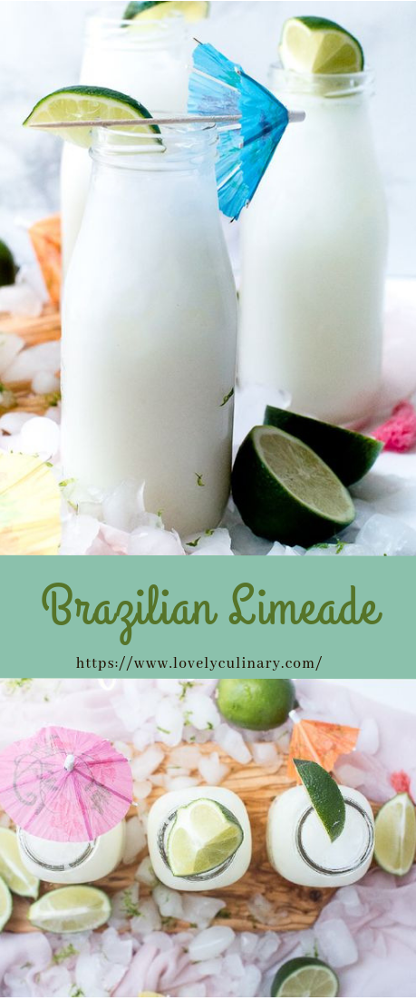 Brazilian Limeade #drinks #cocktail