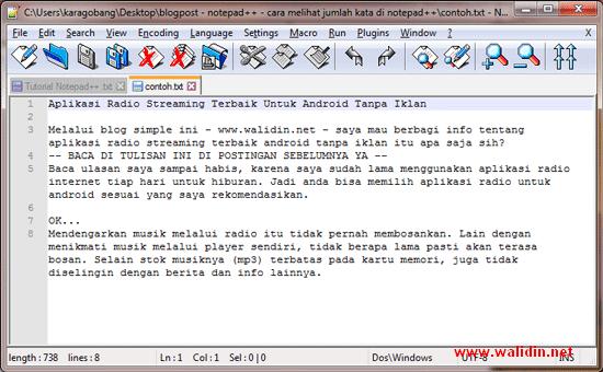 cara-menghitung-kata-di-notepad++