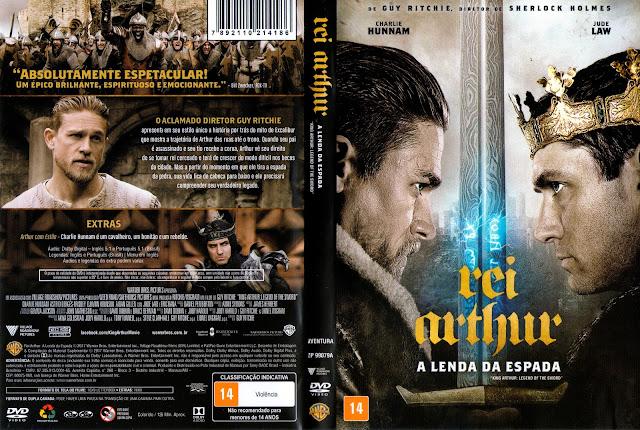 Capa DVD Rei Arthur: A Lenda da Espada