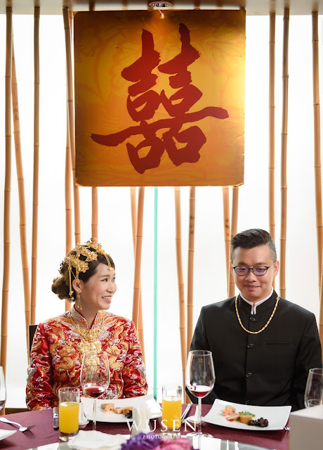 龍鳳褂訂婚
