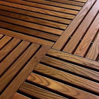 Greatmats GreatDeck outdoor hardwood deck tile