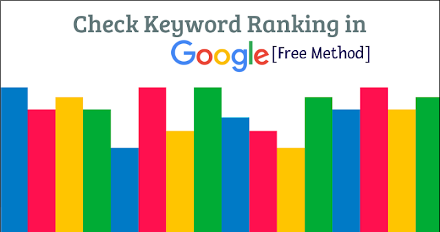 Check Keyword Ranking in Google