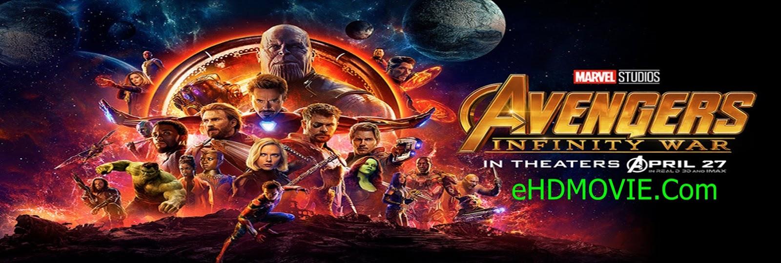 Avengers Infinity War 2018 Full Movie Dual Audio [Hindi – English] 720p - HEVC - 480p ORG WEB-DL 200MB - 500MB - 1.3GB - 2.2GB ESubs Free Download