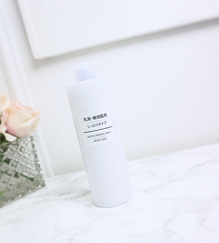 Muji moisturizing milk review