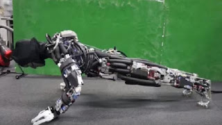 Japanse robot kan zweten