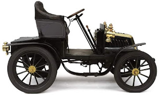 SUPER OLD CAR : GOLDEN ERA ANTIQUE AUTO OF THE DAY DARRACQ - 8-HP TWO-SEATER - 1901