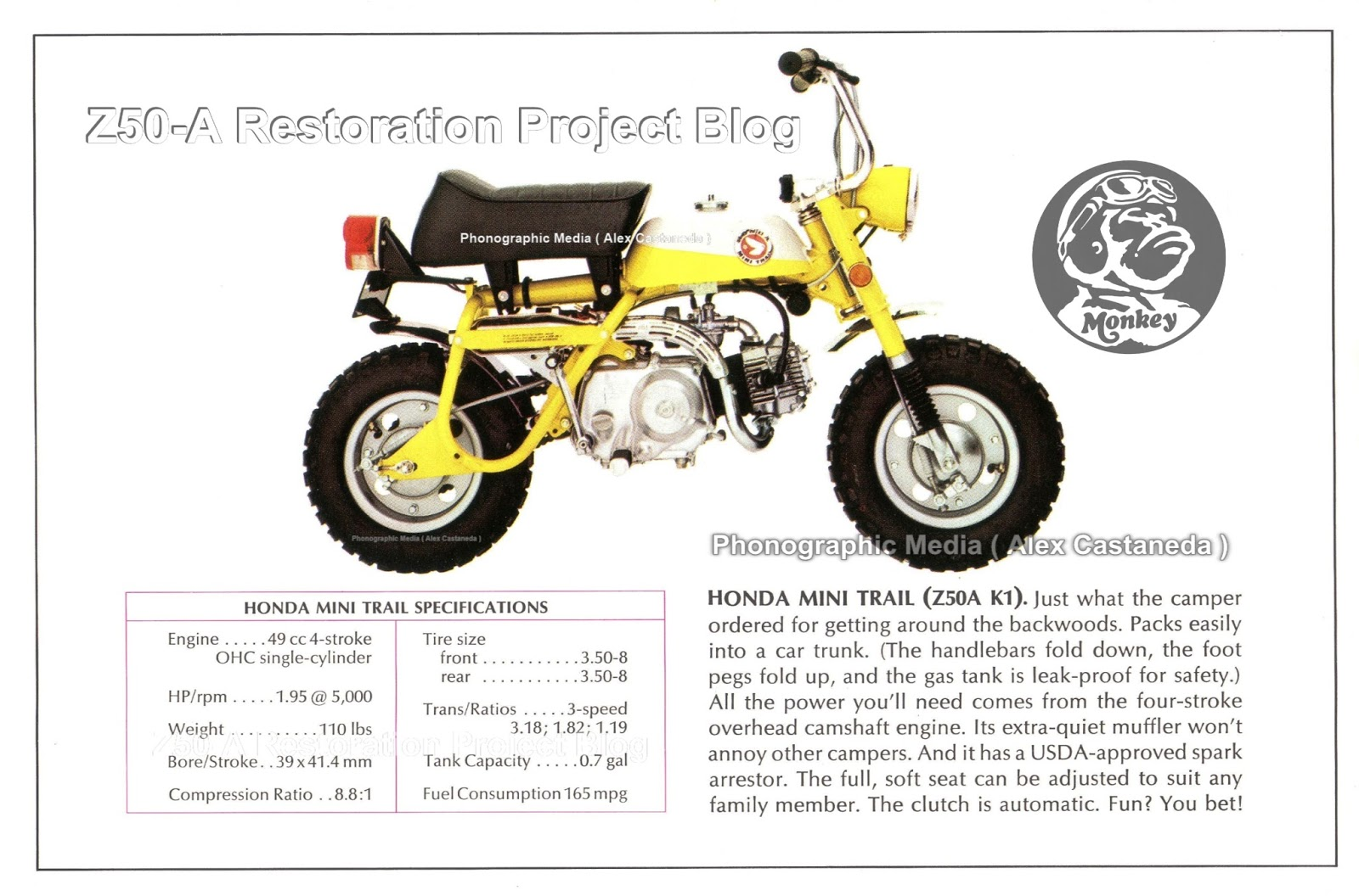 1969 Honda Z50 Parts Diagram Car Wiring Diagrams Explained 1970 Trail 70 Genuine Nos Vintage Mini Monkey Ko Rh Z50a Restoration Project Blogspot Com K1 Catalog