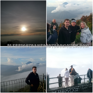 Antoine and parents (FR), transport from Surabaya Airport to Mount Bromo-Ijen Crater-Bali. Oct 30th to Nov 1st, 2016.