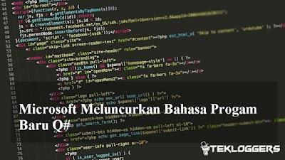 Microsoft  Baru Saja Meluncurkan Bahasa Progam Quantum  Q#