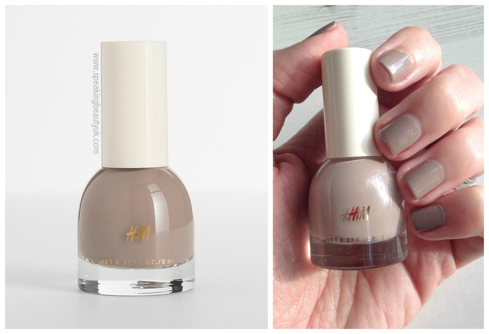 H&M Nail Polish in Go To Greige