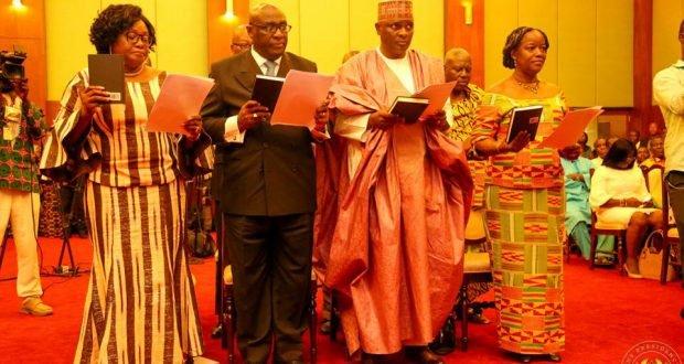 Akufo-Addo swears in first batch of 8 Ambassadors