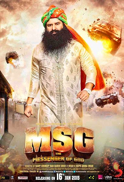 Upcoming MSG: The Messenger of God Film Story | Star Cast | Release Dates Wiki