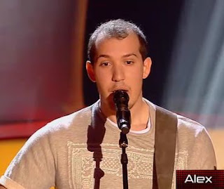 Alex canta More Than Words la voz 2015