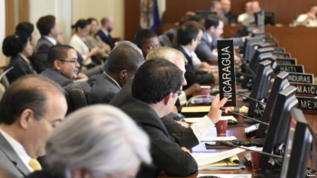 Sesión en la OEA se activó a petición de Argentina y EEUU / TWITTER