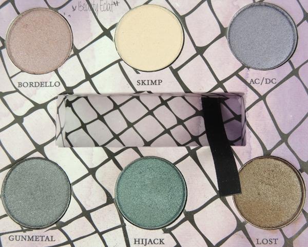 tutoriel maquillage feminine palette urban decay