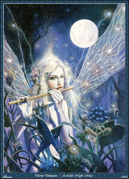 Fantasy Art David Delamare' Fairies - Wallpaper