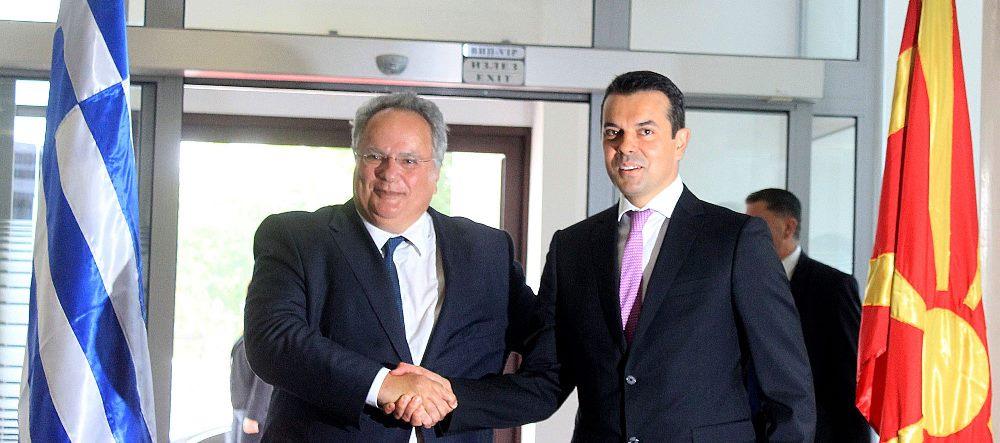 Kotzias prepares for visit in Macedonia