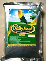 Pakan Burung Lovebird Lomba For Daily Feed Lovebird