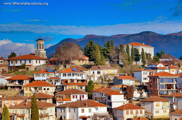 Panorama - Ohrid city - Macedonia