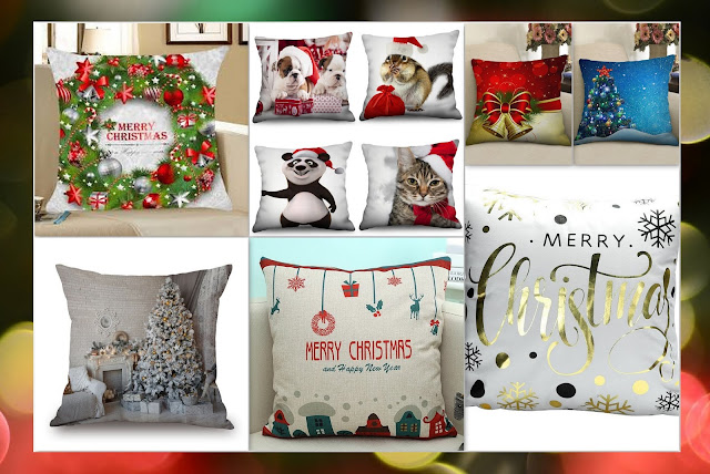 Rosegal christmas Pillowcases