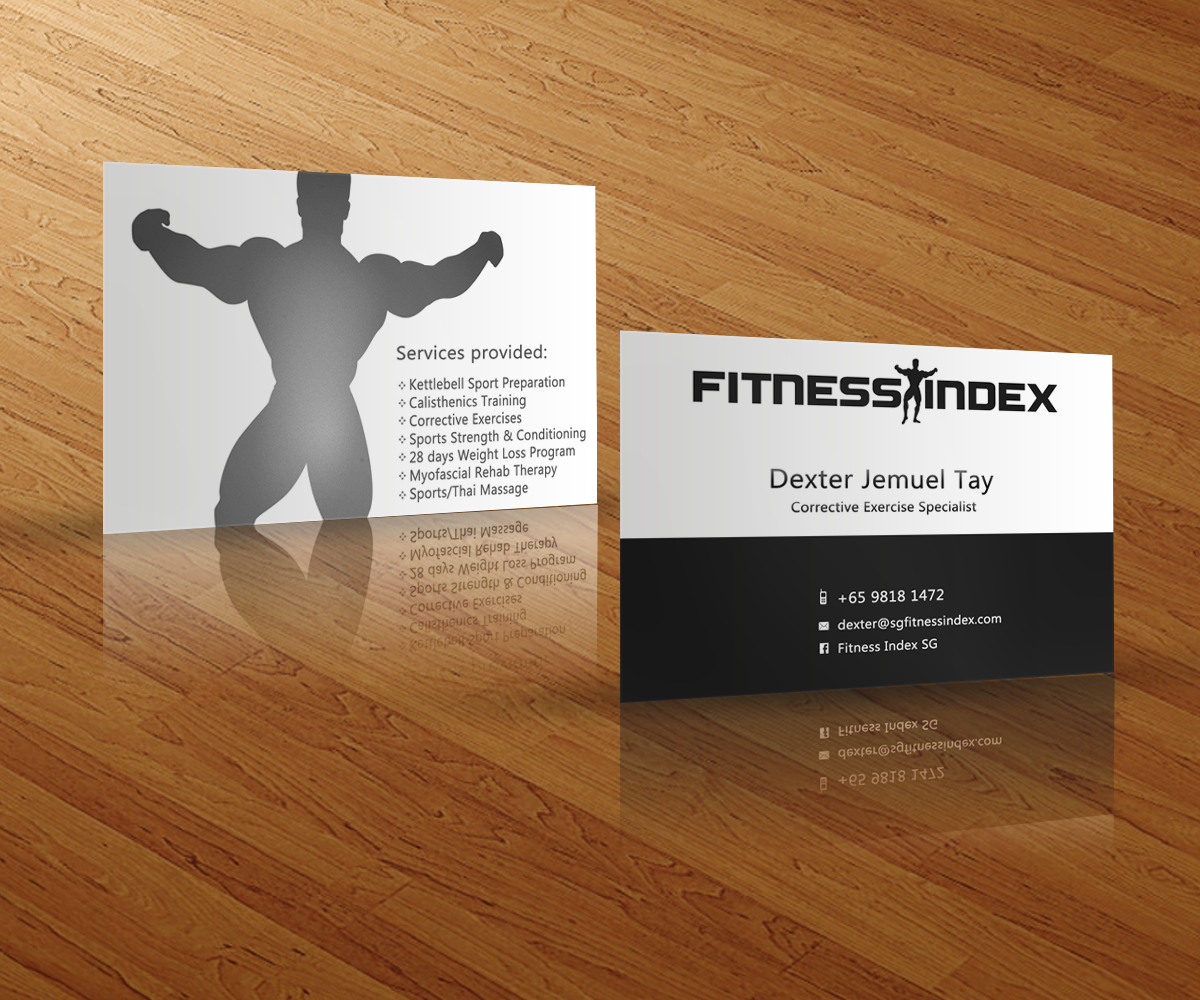 Fitness business cards business card tips unique personal trainer business cards health and fitness business cards creative fitness business cards reheart Image collections