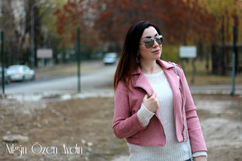 Pudra Süet Ceket-moda blogu-fashion blog