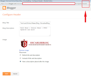 Blogger widget ID