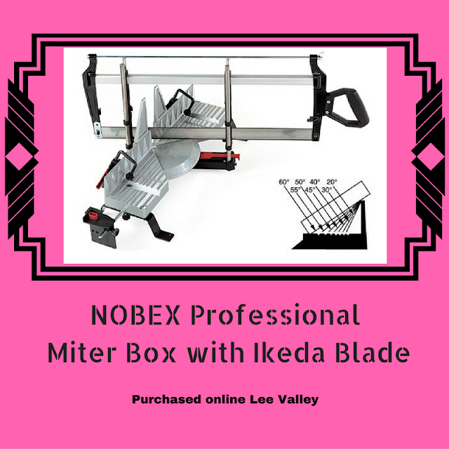 Nobex Professional Miter Box with Ikeda Blade