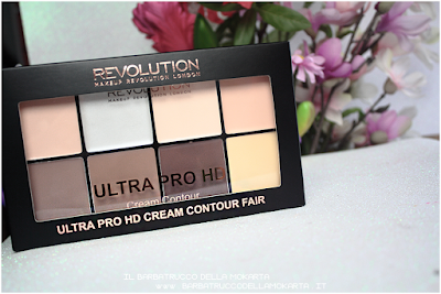 review ultra pro hd cream contour makeup revolution