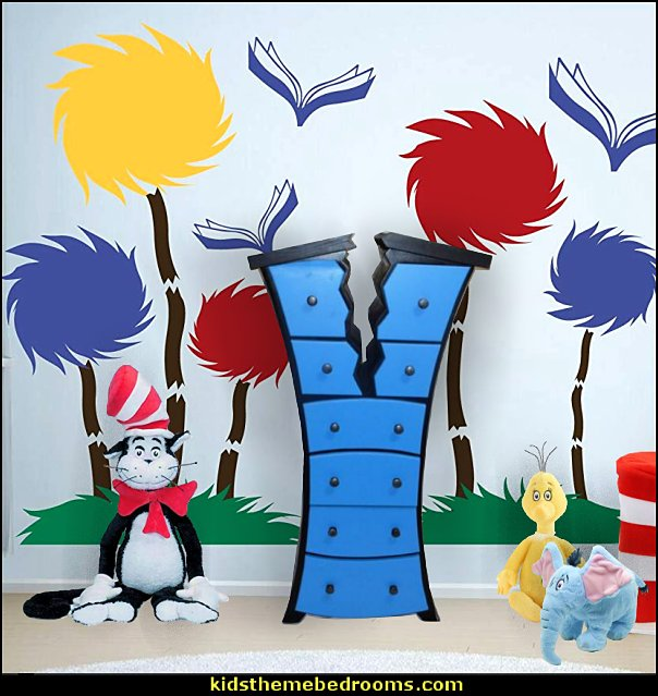 dr seuss bedroom decor dr seuss furniture   Dr Seuss bedroom ideas - Dr.Suess bedroom decor - Dr Seuss Bedding - dr. seuss nursery  - decorating ideas  cat in the hat theme bedrooms -  Dr Seuss wall decal stickers - DR SEUSS wall mural decal - Dr. Suess playroom ideas - Dr. Seuss Plush Toys