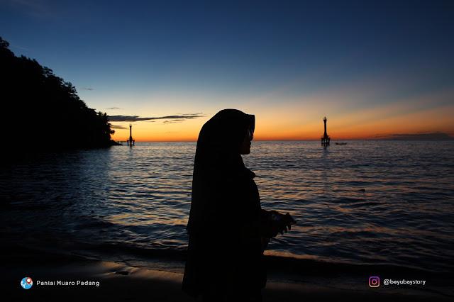 Sunset Indah di Padang