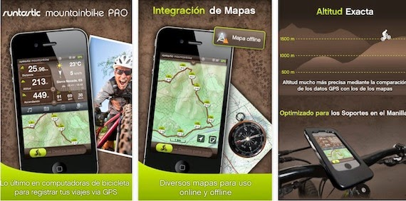 Runtastic Mountain Bike para ios y android