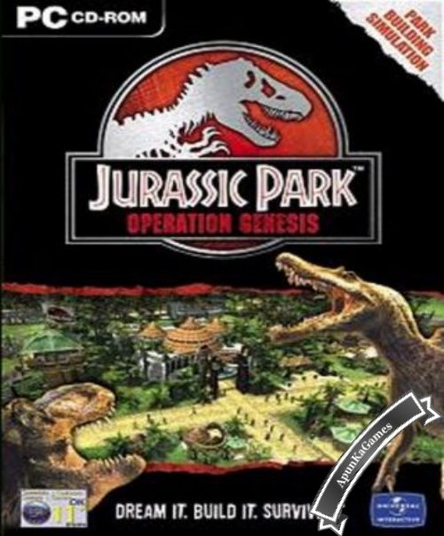 Jurassic Park Operation Genesis Cover, Poster