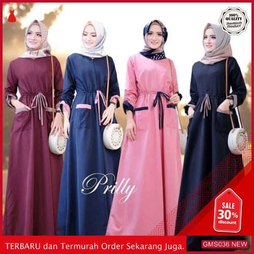 GMS036 KRSRH036G88 Gamis Prily Audrey Dress Balotelli Dropship SK0472761013