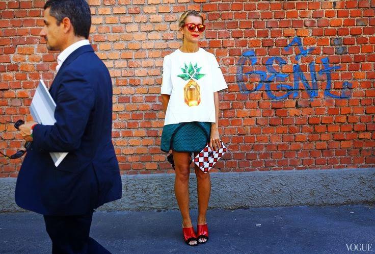 ba35ef193 mas enfim, sejam lojas de departamento (h&m, renner, riachuelo) ou marcas  consagradas (osklen, mixed), fashionistas do mundo inteiro já levaram o  abacaxi às ...