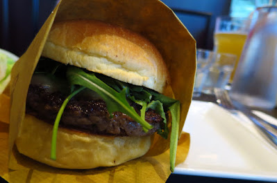 25 Degrees Burger, burger