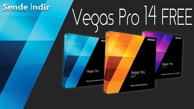Sony Vegas Pro Full 14.0.252 x64Bit Türkçe indir