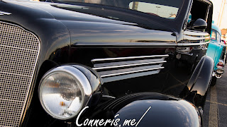 Antique Buick Front Angle