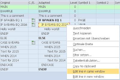 SAPscript forms breakdown tool