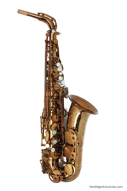 Viking Valkyrie Alto Saxophone Review Front