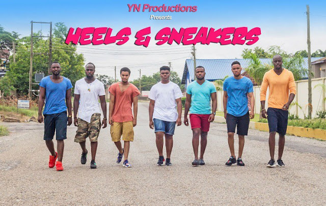Yvonne Nelsons Heels and Sneakers