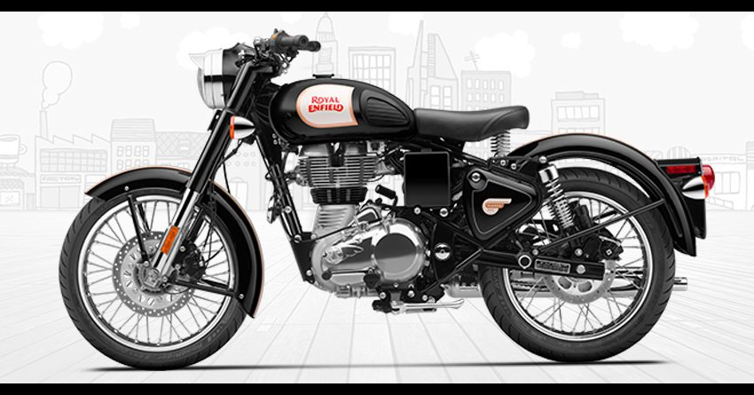 Royal Enfield classic 350 tranforms with rear disc - Bikers
