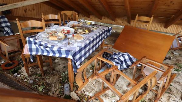 Χαλκιδική: Μαρτυρίες που συγκλονίζουν - Ο αέρας σήκωσε τον 8χρονο και τον πέταξε σε τζαμαρία! (pic-vid)