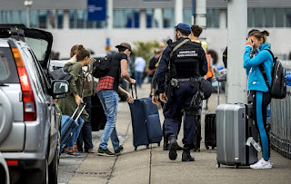 Dutch heighten security at Amsterdam airport, citing threat `indications'