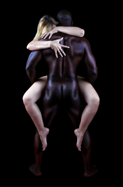 noir sur le sexe interracial blanc