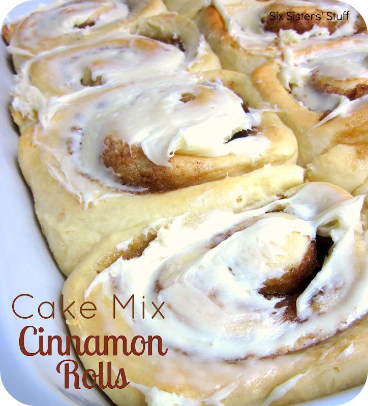 Cinnamon Rolls With White Cake Mix